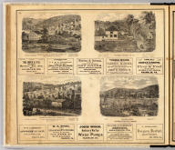 Bissell Oil & Manufacturing Co. Central Petroleum Co. Celebrated Reed Well, Cherry Run, United Petroleum Farms Association. Hilands Farm, Hoffman Petroleum Company. Entered ... 1865 ... Southern District of New York by F.W. Beers & Co. Ferd. Mayer & Co. Lithographers, 96 Fulton St., N.Y.