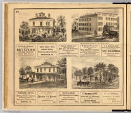 Res'd. of A.B. Funk, decd., Titusville, Pa. McRae House, Titusville. Moore House ... Titusville, Pa. Res'd. of John S. McCalmont, Franklin, Pa. (Entered ... 1865 ... Southern District of New York by F.W. Beers & Co. Ferd. Mayer & Co. Lithographers, 96 Fulton St., N.Y.)