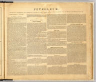 (Text Page to) Atlas of the oil region of Pennsylvania. From actual surveys under the direction of F.W. Beers, C.E. Assisted by Beach Nichols, J.M. Beers, A. Leavenworth, C.S. Peck, C.A. Curtis & Geo. Stewart. With a few facts relating to petroleum, historically, scientifically, and commercially, reviewed by Ivan C. Michels, Editor of the Philadelphia Coal Oil Circular and Petroleum Price Current. Published by F.W. Beers, A.D. Ellis & G.G. Soule, 43 John St. N.Y. Assistants: W.H. Hubbell, Willard Upton. Assistants: S. Stewart, Jas. Rhynus. Entered ... 1865 ... New York by F.W. Beers & Co. Ferd. Mayer & Co. Lithographers, 96 Fulton St. N.Y.