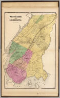 West Farms and Morrisania. (Atlas of New York and vicinity ... by F.W. Beers ... published by Beers, Ellis & Soule, New York, 1868)
