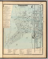 Tremont, Town of West Farms. (Atlas of New York and vicinity ... by F.W. Beers ... published by Beers, Ellis & Soule, New York, 1868)