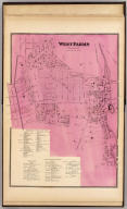 West Farms, Westchester Co., N.Y. (Atlas of New York and vicinity ... by F.W. Beers ... published by Beers, Ellis & Soule, New York, 1868)
