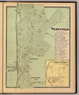 Wakefield, Town & County of Westchester, N.Y. (with) Bronxdale. (Atlas of New York and vicinity ... by F.W. Beers ... published by Beers, Ellis & Soule, New York, 1868)