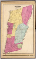 Town of Yonkers, Westchester Co., N.Y. (Atlas of New York and vicinity ... by F.W. Beers ... published by Beers, Ellis & Soule, New York, 1868)