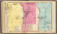 Hastings upon Hudson ... Dobbs' Ferry ... Irvington ... (all) Town of Greenburgh. (Atlas of New York and vicinity ... by F.W. Beers ... published by Beers, Ellis & Soule, New York, 1868)