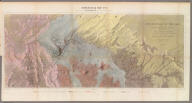 Geological Map No. 2. Prepared by J.S. Newberry, M.D. Geologist to the Expedition. Explorations and Surveys. War Department. Map No. 1. Rio Colorado of the West, explored by 1st Lieut. Joseph C. Ives, Topl. Engrs. under the direction of the Office of Explorations and Surveys. A.A. Humphreys, Capt. Topl. Engrs. in Charge, by order of the Hon. John B. Floyd, Secretary of War. 1858. Drawn by Frhr. F.W.v. Egloffstein. Topographer to the Expedition. Topography by Frhr. F.W.v. Egloffstein. Ruling by Samuel Sartain. Lettering by F. Courtenay.