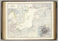 Basin of the Baltic by Keith Johnston, F.R.S.E. (with) St. Peterburg and its environs. Engraved & printed by W. & A.K. Johnston, Edinburgh. William Blackwood & Sons, Edinburgh & London, (1861)