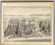 Residence of J.S. Emery, Oakland, Alameda Co., Cal. (Published by Thompson & West, Oakland, Cala., 1878)