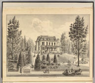 Residence of B.W. Reagan, Oakland, Alameda Co., Cal. (Published by Thompson & West, Oakland, Cala., 1878)