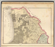Map number one (Alameda County farm map. Published by Thompson & West, Oakland, Cal., 1878)