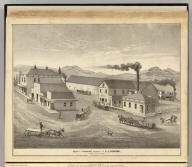 Block I, Livermore, property of C.J. Stevens, Alameda County, California. (Published by Thompson & West, Oakland, Cala., 1878)