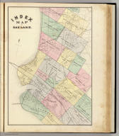 Index map of Oakland. (Published by Thompson & West, Oakland, Cala., 1878)