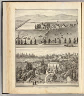 Res. & ranch of Richard Dowling, Brooklyn Tp. ... Residence of P.F. Marston, Fruit Vale Ave. ... (both) Alameda Co., Cal. (Published by Thompson & West, Oakland, Cala., 1878)