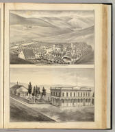 Residence & farm of E. Dyer, Murray Tp., Alameda Co., Cal. (P.O. Altamont, Cal.) Property of Meritz Hupers, Livermore, Alameda Co., Cal. (Published by Thompson & West, Oakland, Cala., 1878)