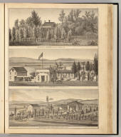 Res. & farm of E. Munyan, Centerville ... Property of W.W. Armstrong, Brooklyn Tp. ... Res. & farm of Jas. F. Kapp, Pleasanton ... (all) Alameda Co., Cal. (Published by Thompson & West, Oakland, Cala., 1878)
