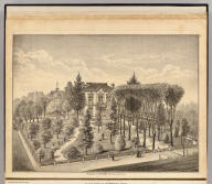 Residence of E.M. Derby, Fruit Vale, Alameda Co., Cal. (Published by Thompson & West, Oakland, Cala., 1878)