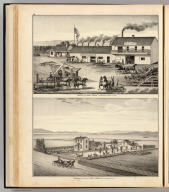 Property of Henry Smyth, San Lorenzo ... (with) Residence and farm of James Adams, Eden Tp. ... (both) Alameda Co., Cal. (Published by Thompson & West, Oakland, Cala., 1878)