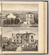Walters, Crowell residences, farm.