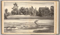 Residence and grounds of G.W. Patterson ... Landing and farm of G.W. Patterson ... (both) Alvarado, Alameda County, California. (Published by Thompson & West, Oakland, Cala., 1878)