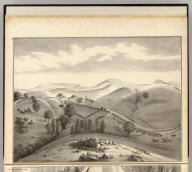 Stock farm of W.H. Blacow, Mission Peak, Alameda County, California. (Published by Thompson & West, Oakland, Cala., 1878)