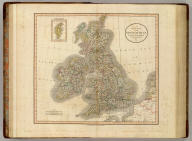 A new map of the British Isles, from the latest authorities. By John Cary, engraver, 1807. (with) Shetland Isles. London: Published for J. Cary, Engraver & Map-seller, No. 181, Strand, July 1st, 1807.
