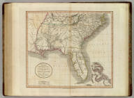 A new map of part of the United States of North America, containing the Carolinas and Georgia, also the Floridas and part of the Bahama Islands &c. From the latest authorities. By John Cary, engraver. 1806. London: Published by J. Cary, Engraver & Map-seller, No. 181, Strand, Feby. 1st, 1806.