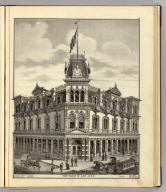 The Bank of San Jose. Smith, del. (Published by Thompson & West, San Francisco, 1876)