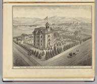 University of the Pacific, between San Jose and Santa Clara, California. T. Lenzen, arch. (Published by Thompson & West, San Francisco, 1876)
