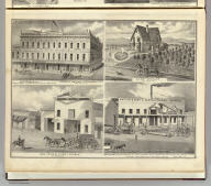 Easterday & Co. ... Hensley House, W.G. Campbell, propr., San Jose, Cal. Res. of Wm. Winslow, San Jose, Cal. John Paine's Livery Stable, Gilroy, Cal. Watkins & Scott, manufacturers ... San Jose, Cal. (Published by Thompson & West, San Francisco, 1876)