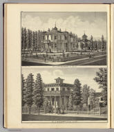 Res. of W.P. Dougherty, San Jose, Cal. Res. of B.D. Murphy, San Jose, California. (Published by Thompson & West, San Francisco, 1876)