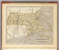 Massachusetts and Rhode Island. (By Sidney E. Morse and Samuel Breese. New York: Published by Harper & Brothers, 1845)