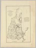 A topographical map of the State of New Hampshire, surveyed under the direction of Samuel Holland Esqr., Surveyor General of Lands for the Northern District of North America by the following gentlemen his deputies, Mr. Thomas Wright, Mr. George Sproule, Mr. James Grant, Mr. Thomas Wheeler & Mr. Charles Blaskowitz. London. printed for William Faden, Geographer to the King, Charing-Cross, March 1st, 1784. (New York: Julius Bien, 1878)
