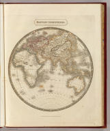 Eastern Hemisphere. By Sidney Hall. London, published by Longman, Rees, Orme, Brown & Green, Paternoster Row, June 1, 1829.