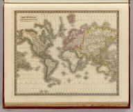 The world on Mercator's projection. By Sidney Hall. London, published by Longman, Rees, Orme, Brown & Green, Paternoster Row, Octr. 1829.