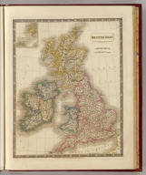 British Isles by Sidney Hall. London, published by Longman, Rees, Orme, Brown & Green, Paternoster Row, Octr. 1, 1829.