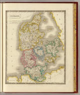 Denmark. By Sidney Hall. London, published by Longman, Rees, Orme, Brown & Green, Paternoster Row, Octr. 1, 1828.