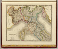 North Italy. By Sidney Hall. London, published by Longman, Rees, Orme, Brown & Green, Paternoster Row, March, 1828.