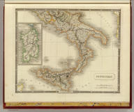 South Italy. By Sidney Hall. London, published by Longman, Rees, Orme, Brown & Green, Paternoster Row, Jany. 1st. 1828.