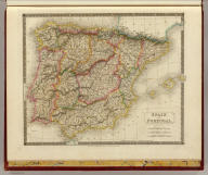 Spain and Portugal. By Sidney Hall. London, published by Longman, Rees, Orme, Brown & Green, Paternoster Row, April 1828.