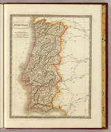 Portugal. By Sidney Hall. London, published by Longman, Rees, Orme, Brown & Green, Paternoster Row, June 1, 1829.
