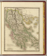 Greece. By Sidney Hall. London, published by Longman, Rees, Orme, Brown & Green, Paternoster Row, Jany. 1st. 1828.