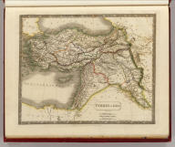 Turkey in Asia. By Sidney Hall. London, published by Longman, Rees, Orme, Brown & Green, Paternoster Row, April 1st. 1829.