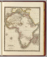 Africa. By Sidney Hall. London, published by Longman, Rees, Orme, Brown & Green, Paternoster Row, Feby. 1, 1829.