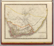 Southern Africa. By Sidney Hall. London, published by Longman, Rees, Orme, Brown & Green, Paternoster Row, Octr. 1st. 1828.
