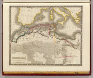 Northern Africa. By Sidney Hall. London, published by Longman, Rees, Orme, Brown & Green, Paternoster Row, June 1, 1829.
