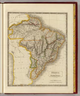 Brazil and Paraguay. By Sidney Hall. London, published by Longman, Rees, Orme, Brown & Green, Paternoster Row, August 1828.
