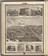 Atlantic, Iowa; farms & bldgs., Cass Co., Davenport, Altoona, Chariton & Albia.
