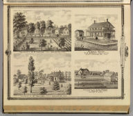 Residences in Linn and Desoto, Dallas Co., Iowa.