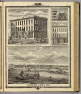 Charles City, and buildings in Davenport and Cresco, Iowa.