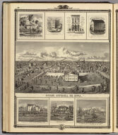 Osage; Bldgs., farms, residences, Decorah, Ft. Atkinson & Winneshiek Co., Iowa.